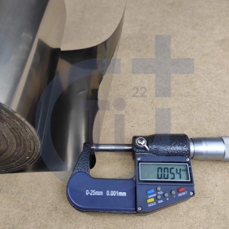 Титановая лента 0.05мм марка ВТ1-00