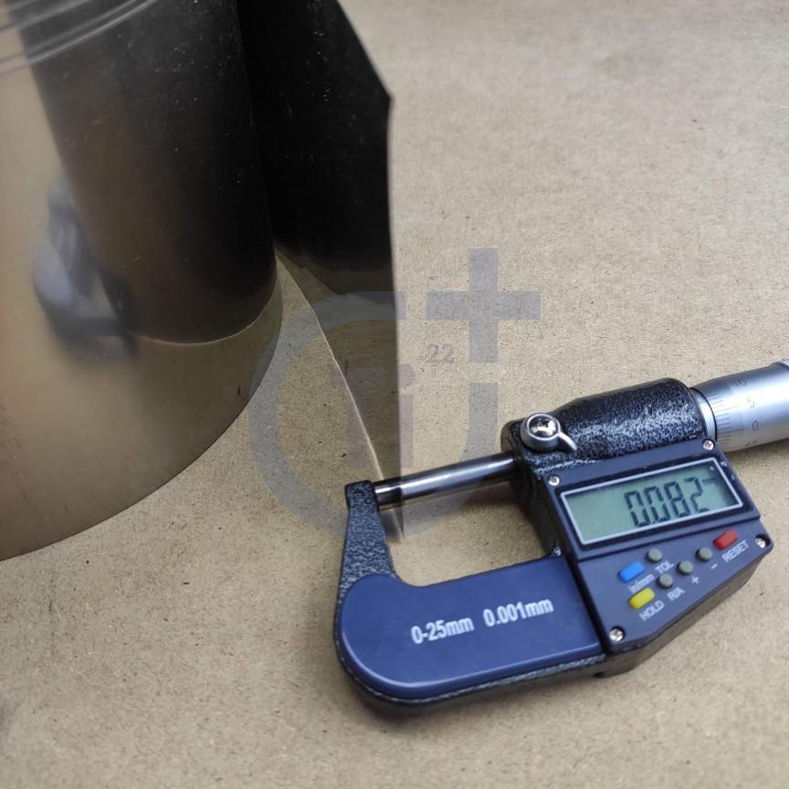 Титановая лента 008мм марка ВТ1-00
