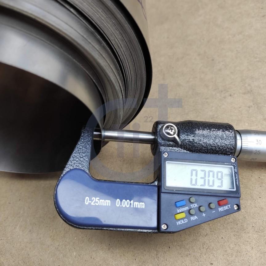 Титановая лента 0.3мм марка ВТ1-00