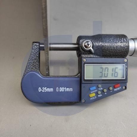 Титановый лист 3мм марка ВТ-6