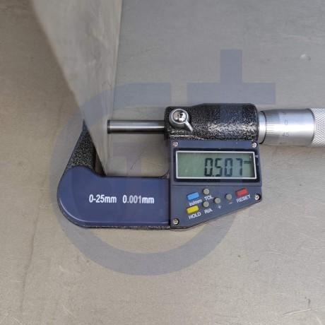Титановый лист 0.5мм марка ВТ1-0