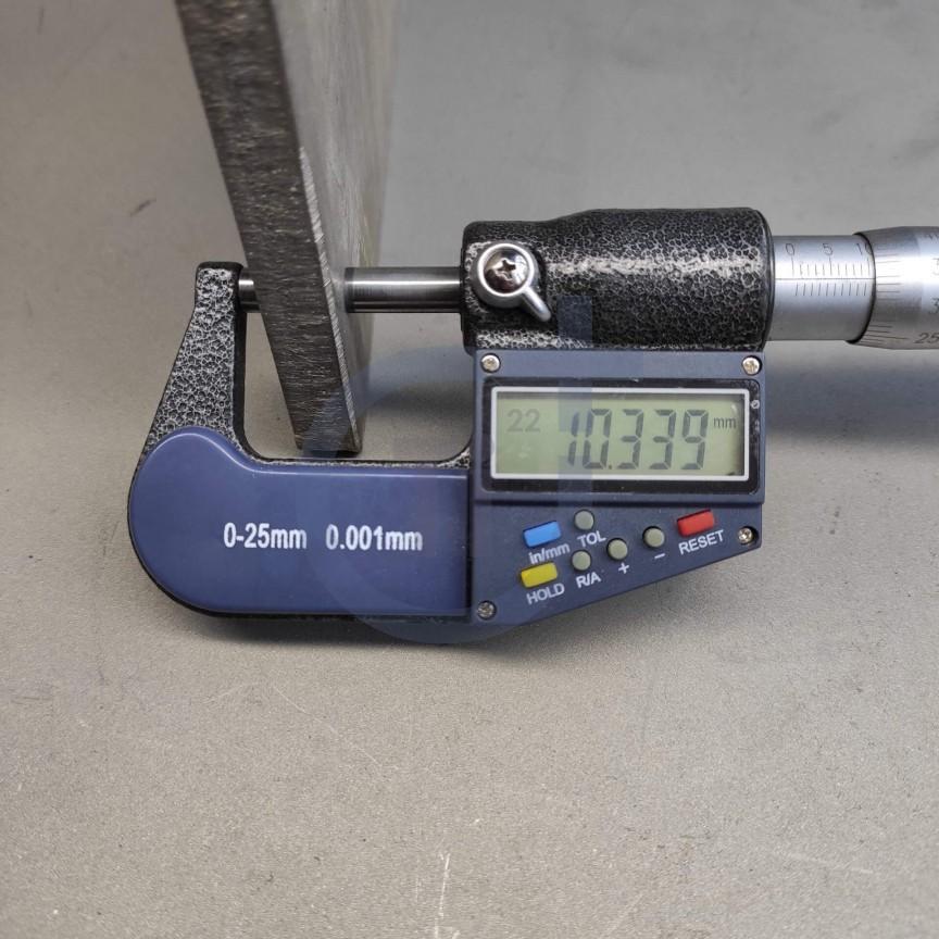 Титановый лист 10мм марка ВТ1-0