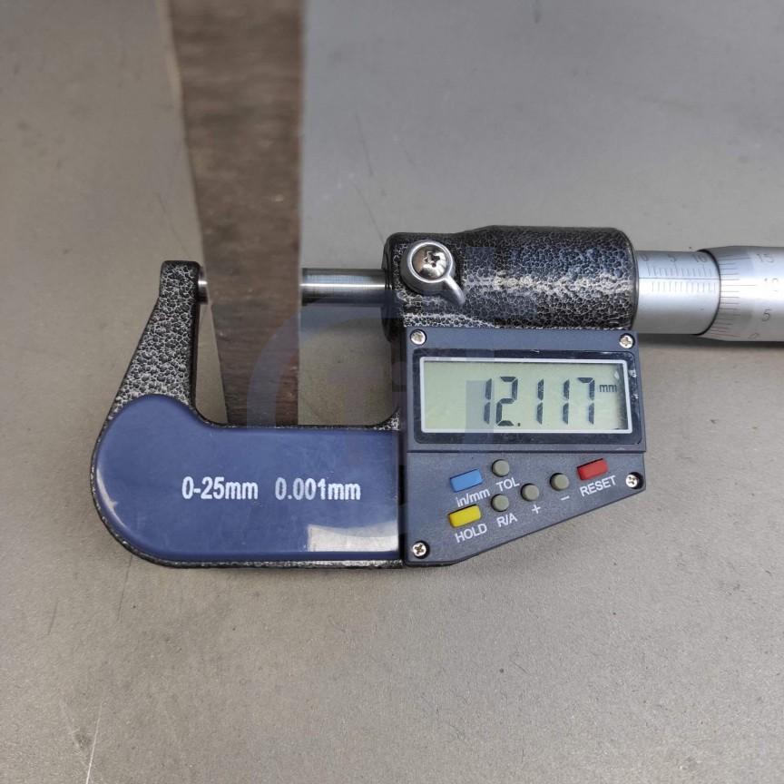 Титановый лист 12мм марка ВТ1-0