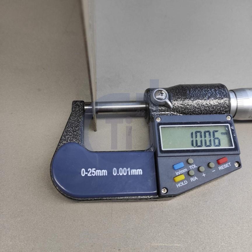 Титановый лист 1мм марка ВТ1-0