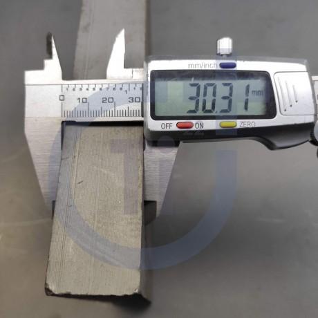 Титановый лист 30мм марка ВТ1-0