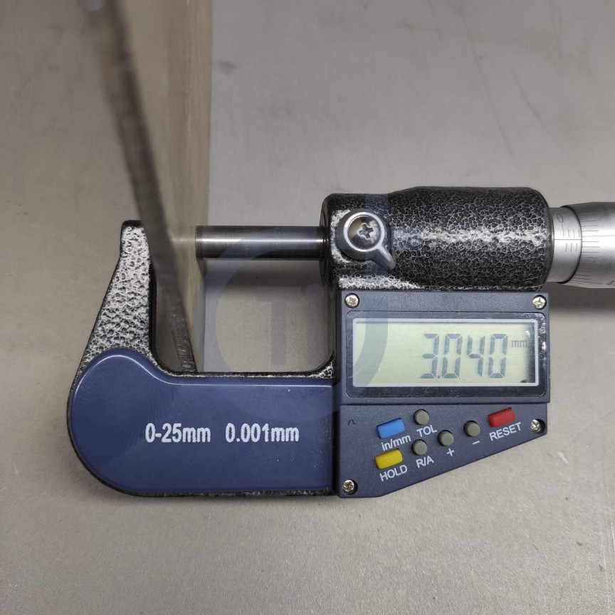 Титановый лист 3мм марка ВТ1-0