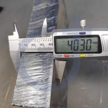 Титановый лист 40мм марка ВТ1-0