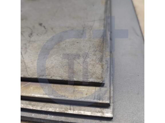 Титановый лист 4мм марка ВТ1-0