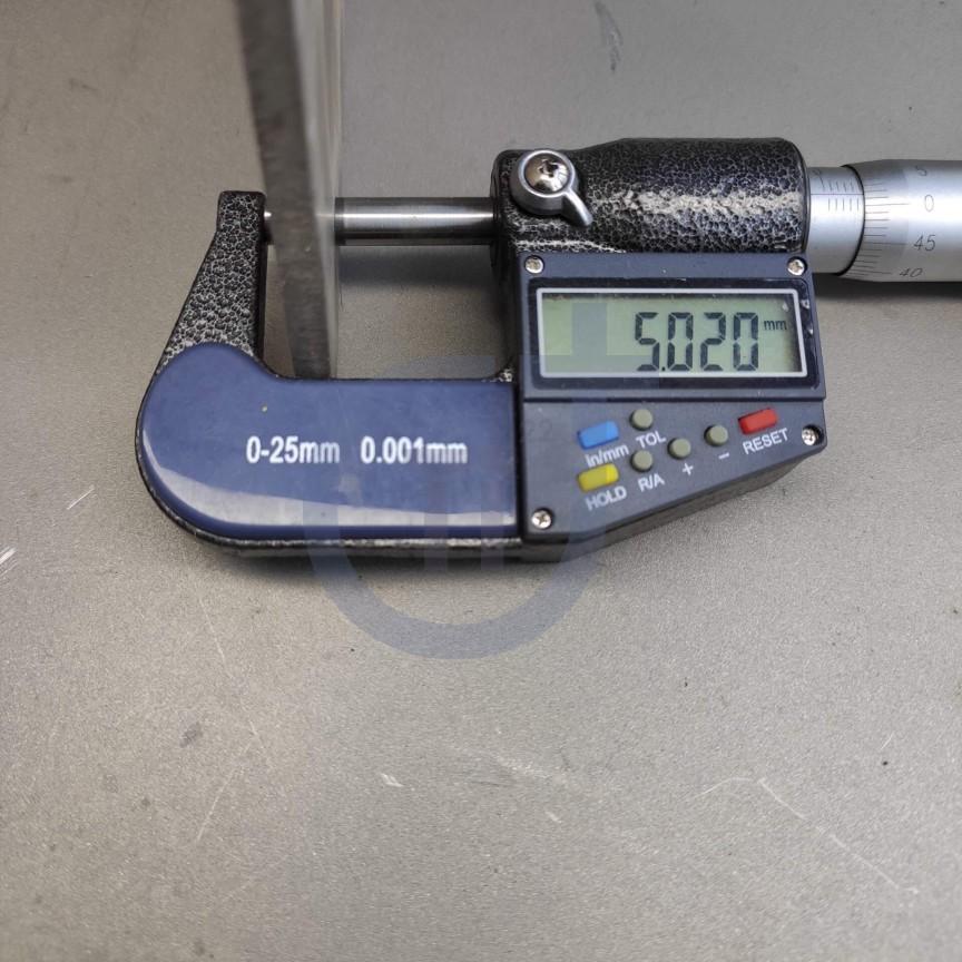 Титановый лист 5мм марка ВТ1-0