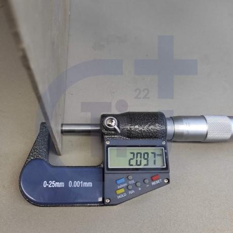 Титановый лист 2мм марка ВТ1-0