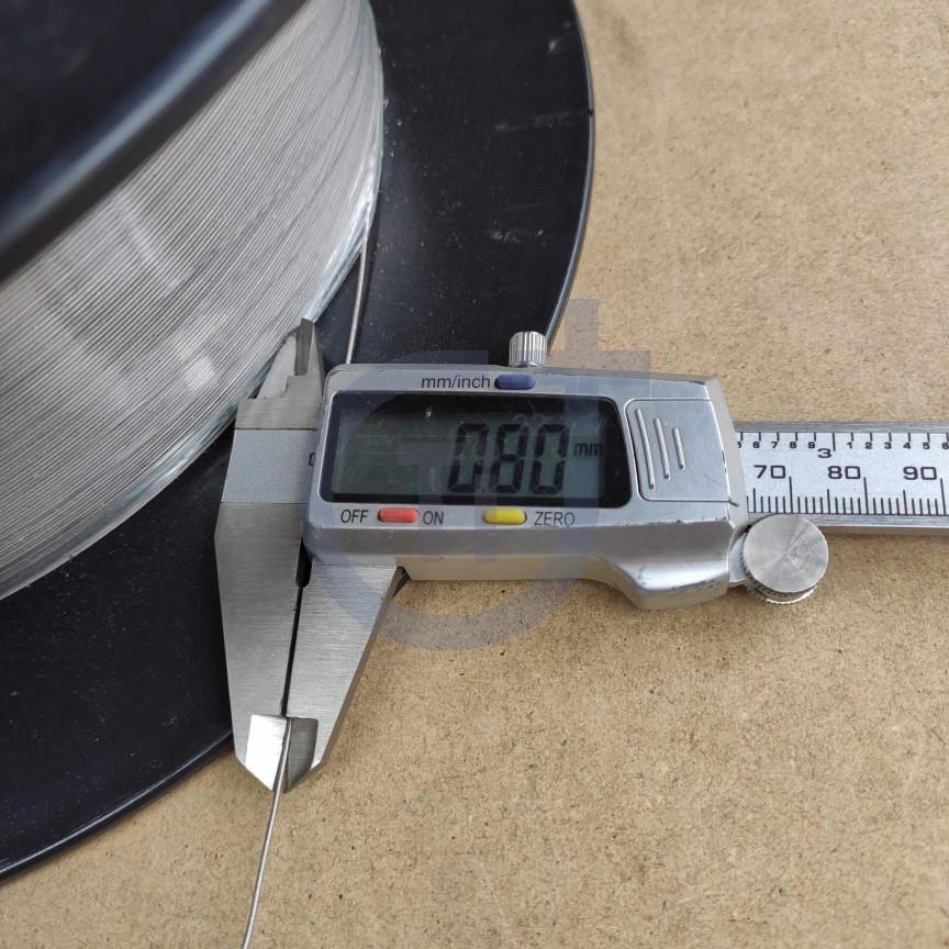 Титановая проволока 0.8мм марка ВТ1-00