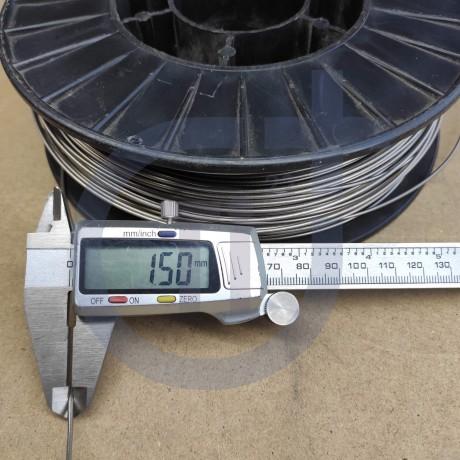 Титановая проволока 1.5мм марка ВТ1-00