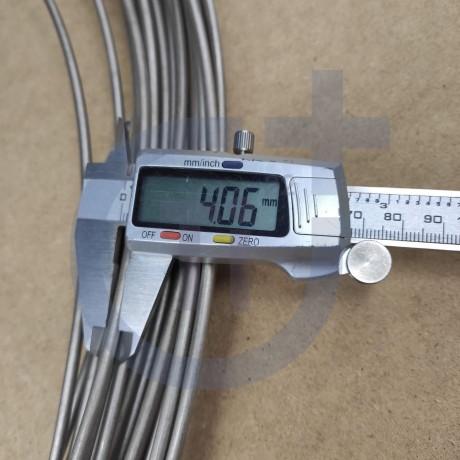 Титановая проволока 4мм марка ВТ1-00