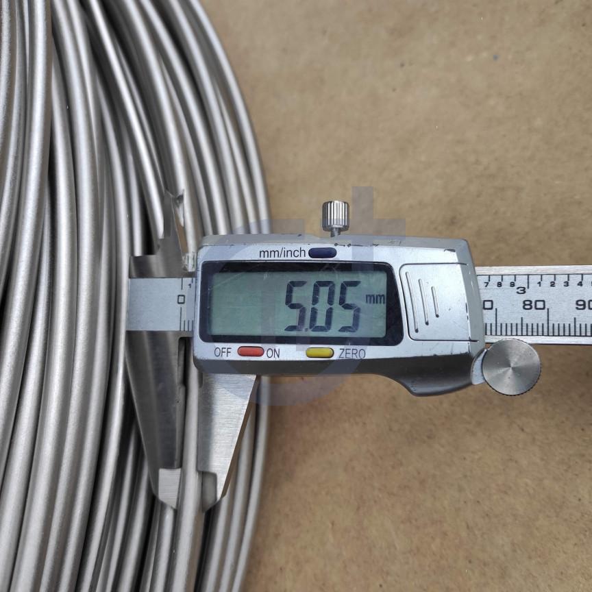 Титановая проволока 5мм марка ВТ1-00