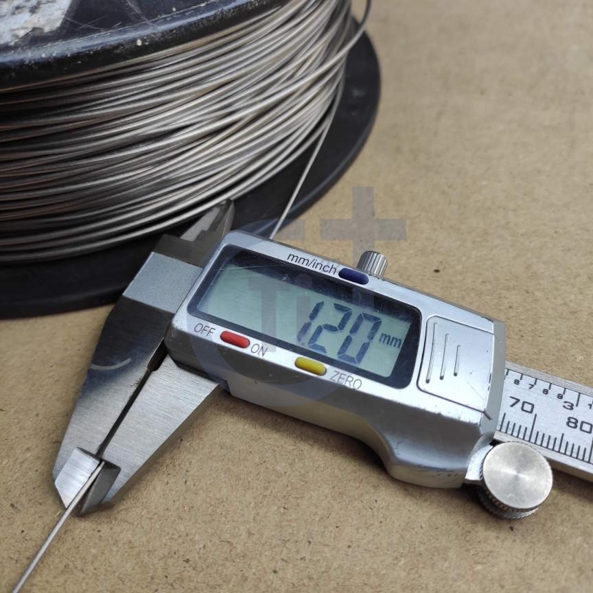 Титановая проволока 1.2мм марка ВТ1-00