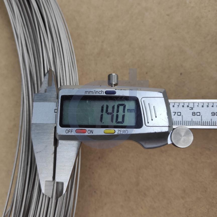 Титановая проволока 1.4мм марка ВТ1-00
