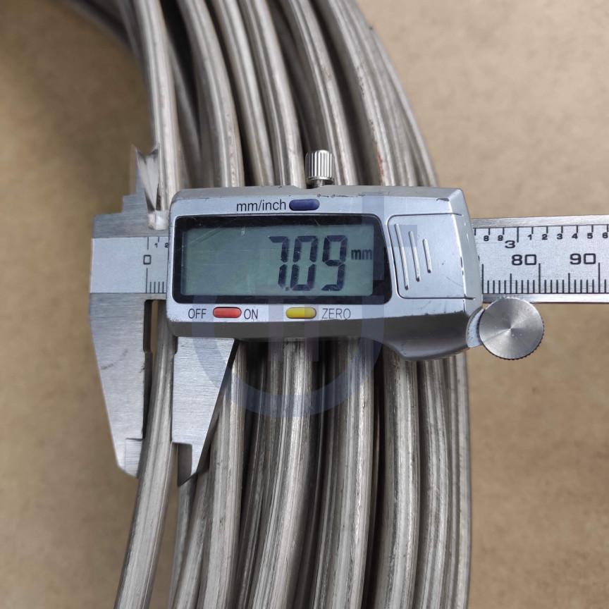 Титановая проволока 7мм марка ВТ1-00