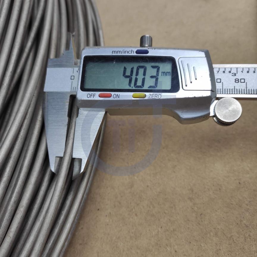Титановая проволока 4мм марка Gr5