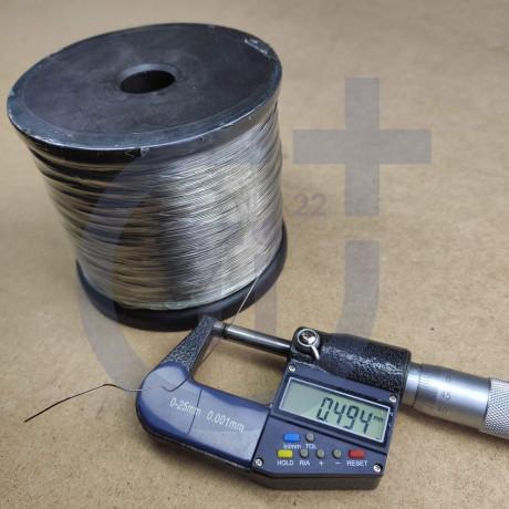 Титановая проволока 0.5мм марка Gr5