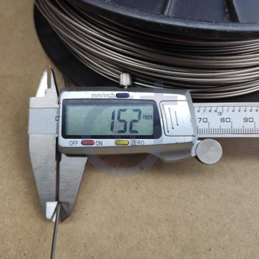 Титановая проволока 1.5мм марка Gr5