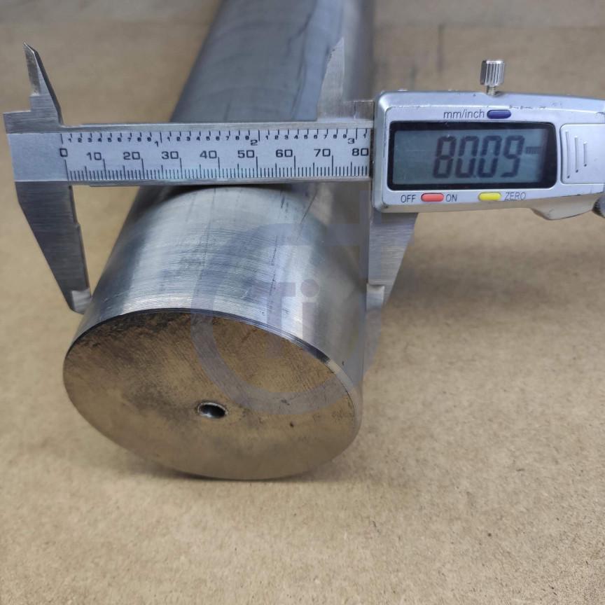 Титановый пруток 80мм марка ВТ6