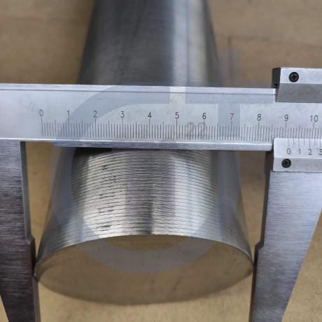 Титановый пруток 90мм марка ВТ6