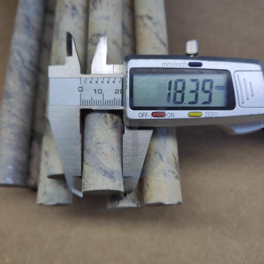 Титановый пруток 18мм марка ВТ1-0