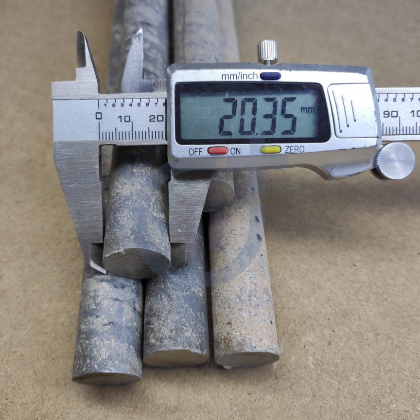 Титановый пруток 20мм марка ВТ1-0