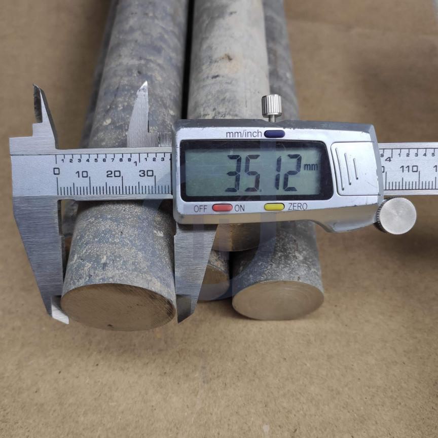 Титановый пруток 35мм марка ВТ1-0