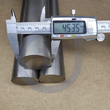 Титановый пруток 45мм марка ВТ1-0