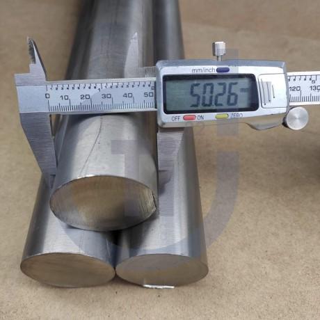 Титановый пруток 50мм марка ВТ1-0