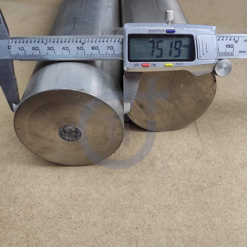 Титановый пруток 75мм марка ВТ1-0