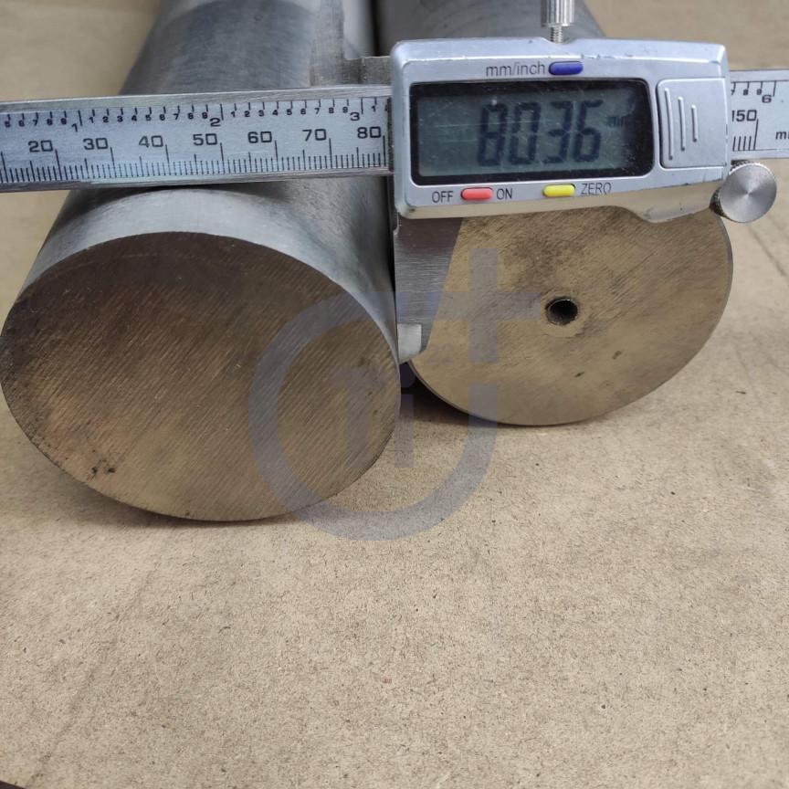 Титановый пруток 80мм марка ВТ1-0