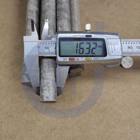 Титановый пруток 16мм марка ВТ1-0