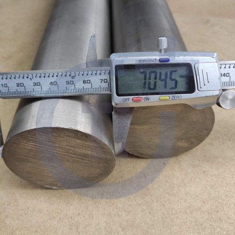 Титановый пруток 70мм марка ВТ1-0
