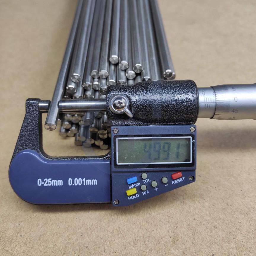 Титановый пруток 5мм марка Gr5