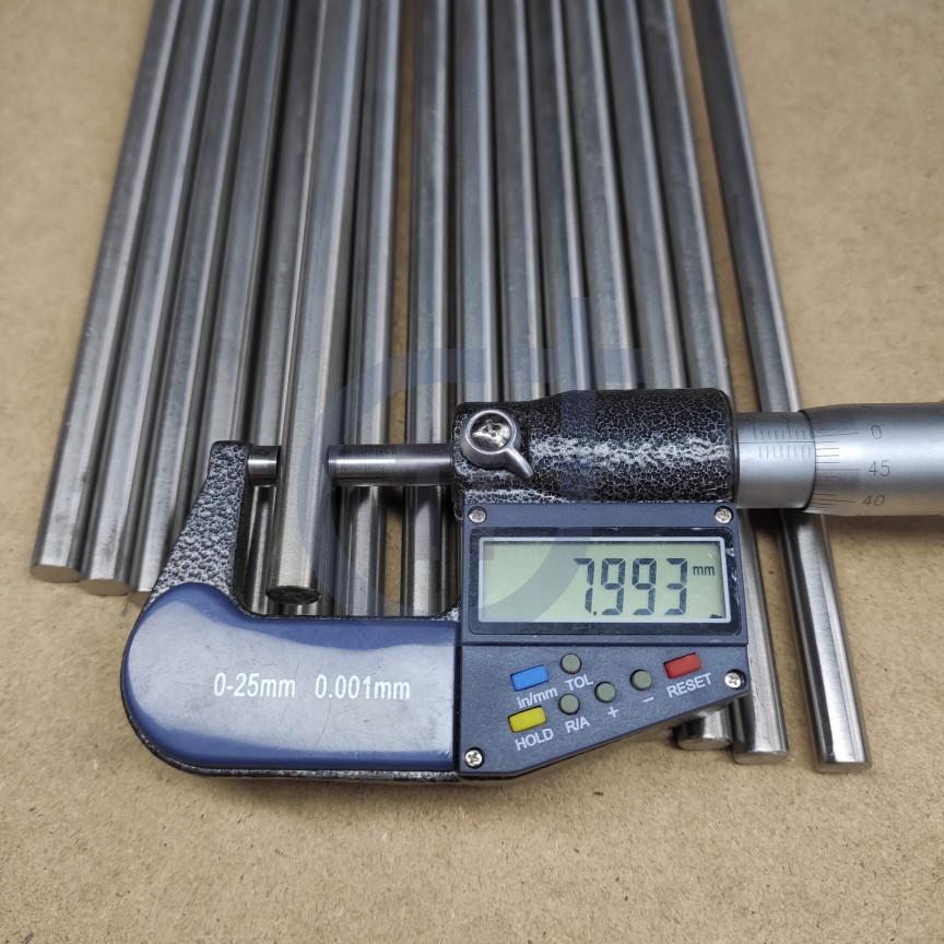 Титановый пруток 8мм марка Gr5