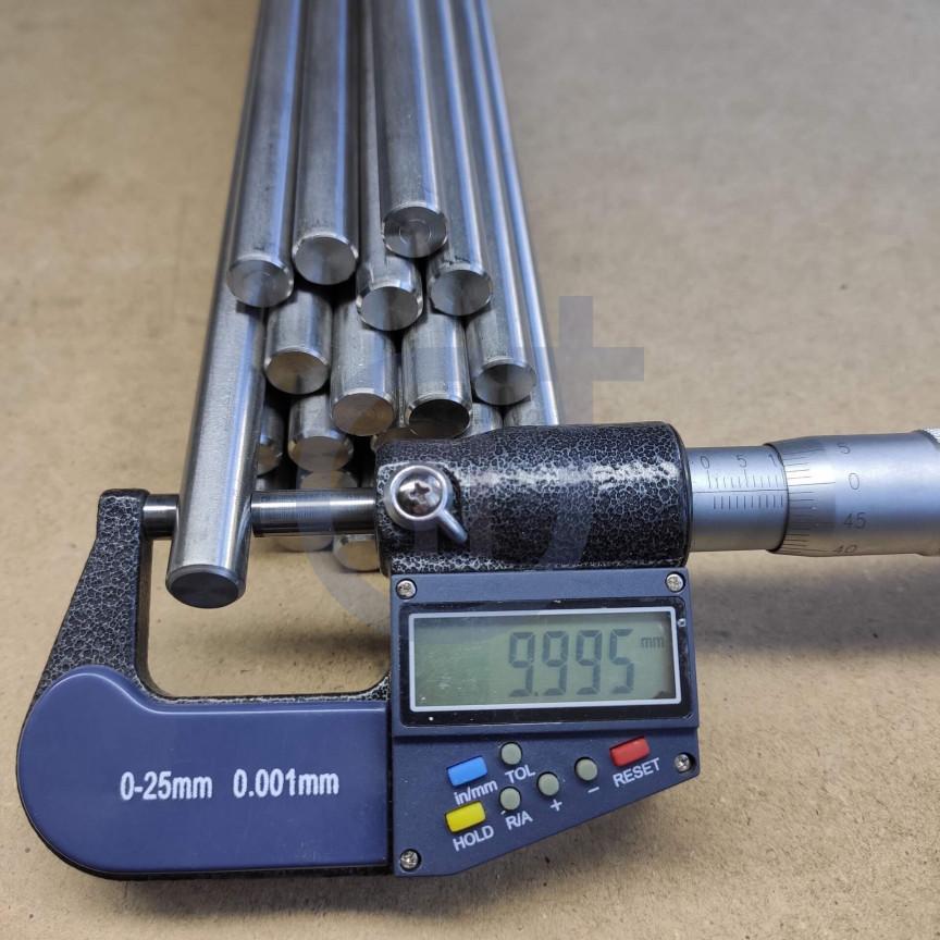 Титановый пруток 10мм марка Gr5