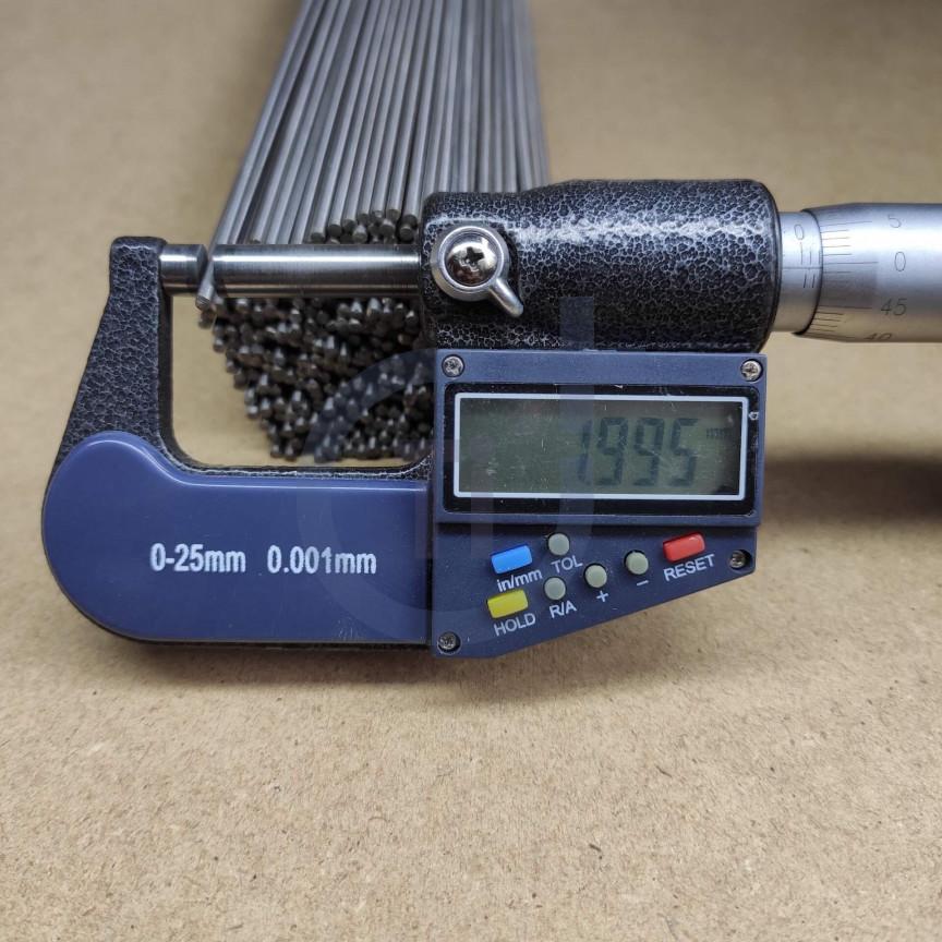 Титановый пруток 2мм марка Gr5