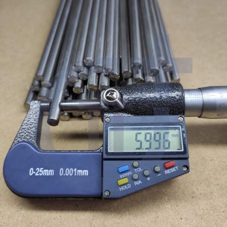 Титановый пруток 6мм марка Gr5